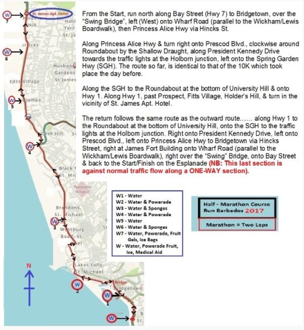 Marathon & Half Marathon Courses
