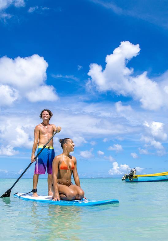 Deportes acuáticos de Bajan: algo para todos