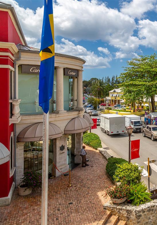 Sol, mar, arena ... ¡Ah, y compras: compras de lujo en Barbados!