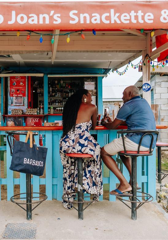La tienda de ron de Barbados